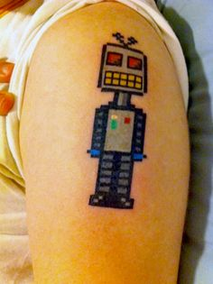 This is making me want a robot tattoo.