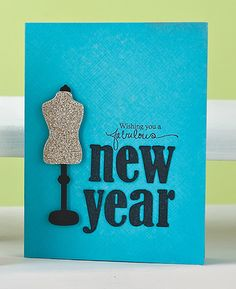 Fabulous New Year Card by @Sarah Jay