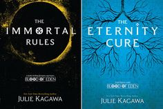 New Blood of Eden series by Julie Kagawa Covers!