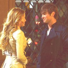 Nate and Serena.