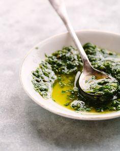 Garlic, Parsley Pesto via Jennifer Davick