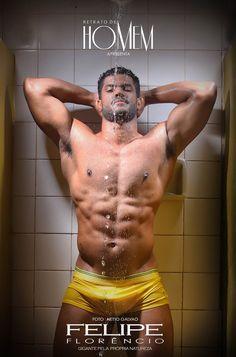 Brazil's Hulk look-alike Felipe Florencio By Netto Galvao