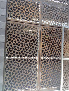 Garden screen, screening, landscape architecture screen, garden