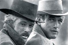 Robert Redford & Paul Newman. Butch Cassidy and the Sundance Kid.