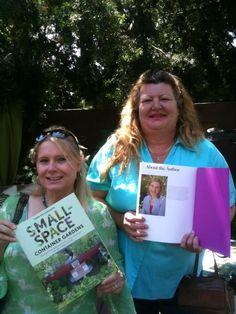 we found Fern Richardson (book) Debra Lynn Hempe and Annie Haven of Authentic Haven Brand at the LA Arboretum Grow Festival