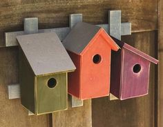 Trellis Trio Birdhouse- 3 Options