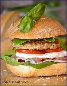 Салат ветчина и болгарский перец и помидор
