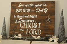Wood art Christmas Religious Pallet Scripture sign by Bellakakes, $85.00