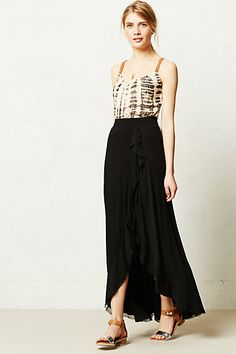 Fabled Maxi Skirt #anthropologie #anthrofave