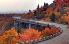 Linn Cove Viaduct at Grandfather Mountain, Blue Ridge Parkway