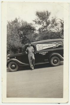 1930s Ford Panel Delivery Truck Arizona Maid Bread