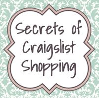 Secrets to Craigslist Shopping
