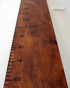 How to make an old-school ruler growth chart