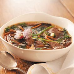 Asian Vegetable-Beef Soup #soup #vegetable #beef #flamous #asian #delicious