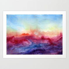 Arpeggi Art Print by Jacqueline Maldonado - $18.00