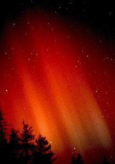 Aurora borealis, Jonesport, Maine