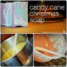 How To Make Candy Cane Christmas Soap