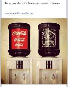 Jack & Coke self serve bar
