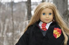 Hermione costume for AG doll.