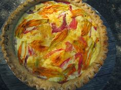 Albion Cooks: Tomato & Cheddar Cheese Pie