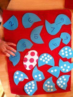 My Montessori Preschool: More Easter activities....