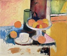 Henri Matisse, Still Life with Compote and Fruit, 1899, oil on canvas, 18 1/8 x 21 7/8 inches,The Metropolitan Museum of Art - Selected Highlights