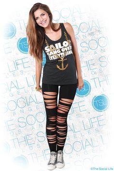 Sailor Gang Over Everything #DeltaGamma #DG #anchor #foil #sorority #TSL #theSocialLife