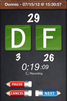 "Disfluency+ ($4.99)  track your students progress during a speech therapy session. Start by adding a student, press the ""F"" button every time a fluent syllable is said and press the ""D"" button every time a disfluent syllable is said.   The following data points are saved every time:  • Student Name  • The date the session was started  • The total time of the session  • Number of fluent syllables  • Number of disfluent syllables  • Total number of syllables  • Percentage of disfluent syllables"