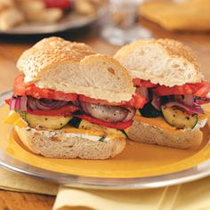 Grilled Vegetable Sandwich Recipes
