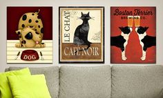 "Groupon - $ 44.99 for Assorted 18""x24"" Canvas Pet Art Prints ($ 99 List Price). Multiple Prints Available. Free Shipping & Returns.. Groupon deal price: $44.99"