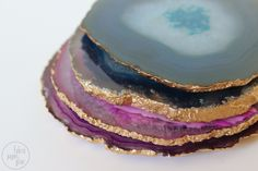 Semi-DIY: Agate Coasters