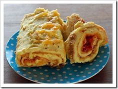 baked rolled omlet