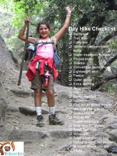 Going for a day hike? Make sure you follow this checklist before you go!