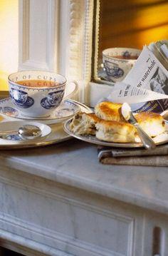 Tea & Biscuits...Wonderful:)