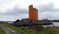 Kilcoe Castle, near Skibbereen, County Cork, holiday residence of actor Jeremy Irons