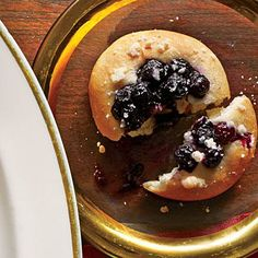 Blueberry Kolaches | Don't overwork the dough. You can use a cookie scoop for easy portioning in Step 4, if desired. | SouthernLiving.com