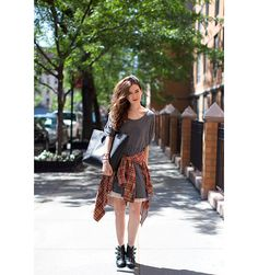 Street Style - Street Chic maxi dresses, street style