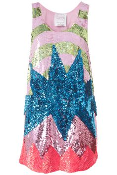 Sequins louise gray for topshop