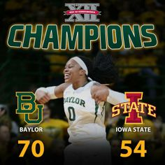 For the 4th year in a row, the #Baylor Lady Bears are Big 12 champs! #SicEm