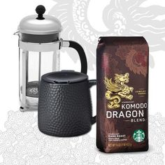 The Renaissance Man. A well-rounded Father's Day gift set: 12-cup coffee press, ceramic desktop coffee mug and Komodo Dragon Blend coffee. $75.00 at StarbucksStore.com