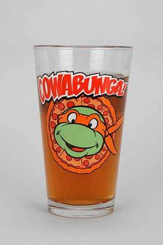 Teenage Mutant Ninja Turtles Pint Glass