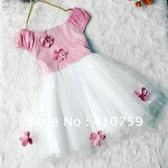 Free Empire Tutu Dress Pattern | ... DRESS,GIRLS TUTU DRESS,GIRLS SUMMER DRESS WITH FLOWER,BABY SUMMER
