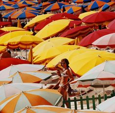 Beach umbrellas, Ita