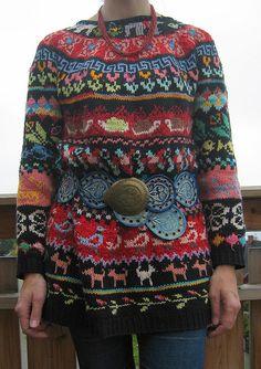 Old sweater, new belt by @Tori Sdao Sdao Seierstad
