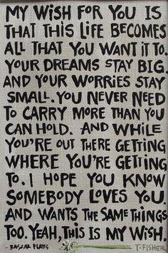 My Wish:)