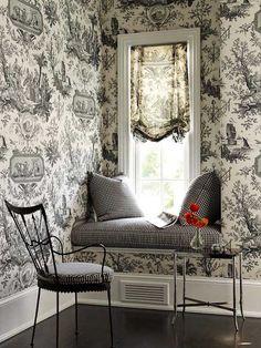 interior, dream, toile, white rooms, black white