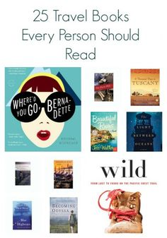 One thing I really love reading is travel books. I have always had a great desire to travel .While I am reasonably sure I will travel lots of places, I probably won't visit every where I want to.  These travel books will give me an insight of what these places would be like.