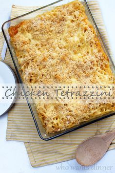 Chicken Tetrazzini (