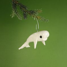 beluga whale Christmas ornament Cute Idea for school...a reading street themed Christmas tree!