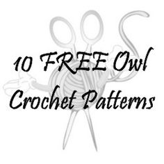 10 FREE Owl Crochet Patterns